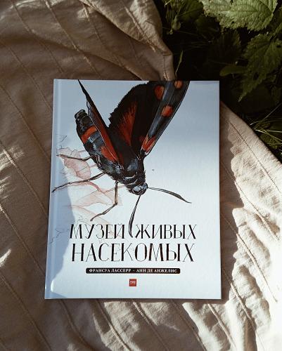 Обзор книги Музей живых насекомых, Франсуа Лассер