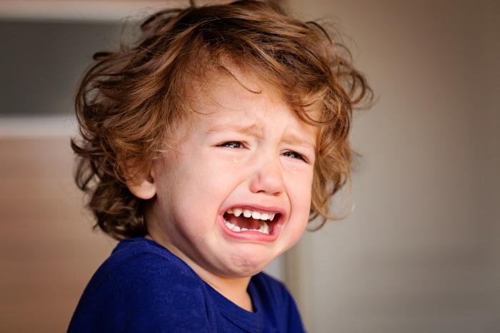 Ребенок истерика