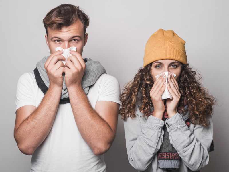 простуда насморк боль в горле